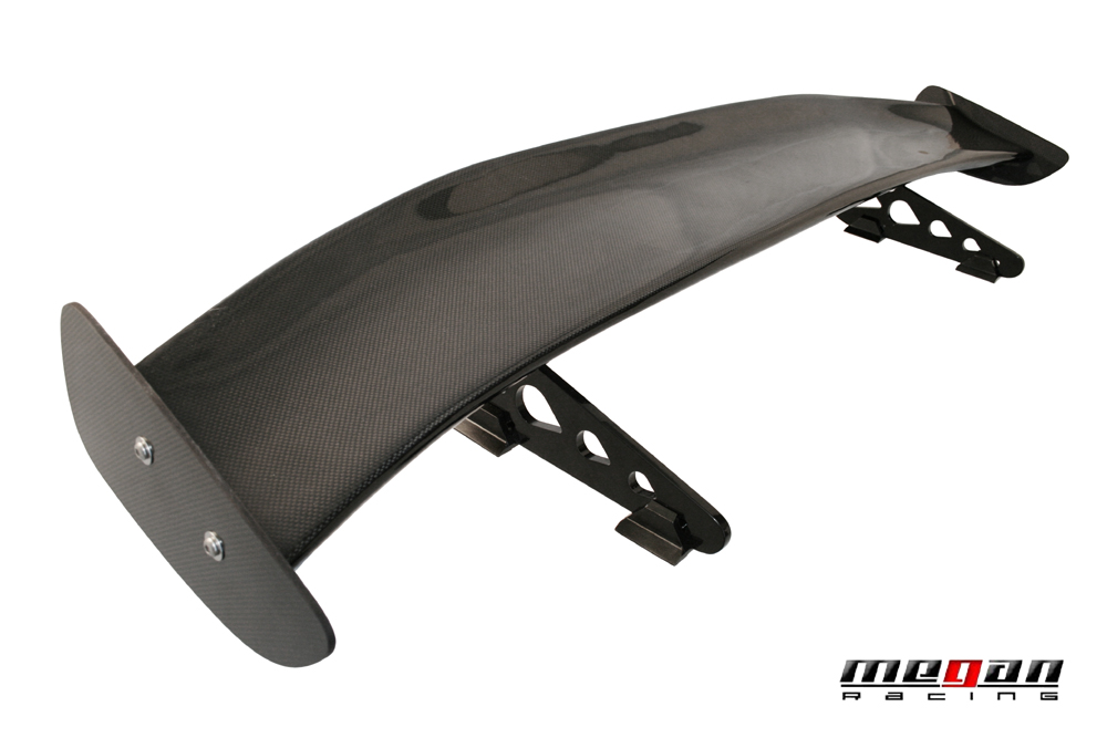 Showoff Imports Universal Mr55 Carbon Wing Spoiler