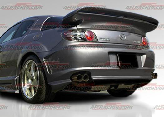 Showoff Imports Mazda Rx8 03 08 Abflug Rear Bumper Ait