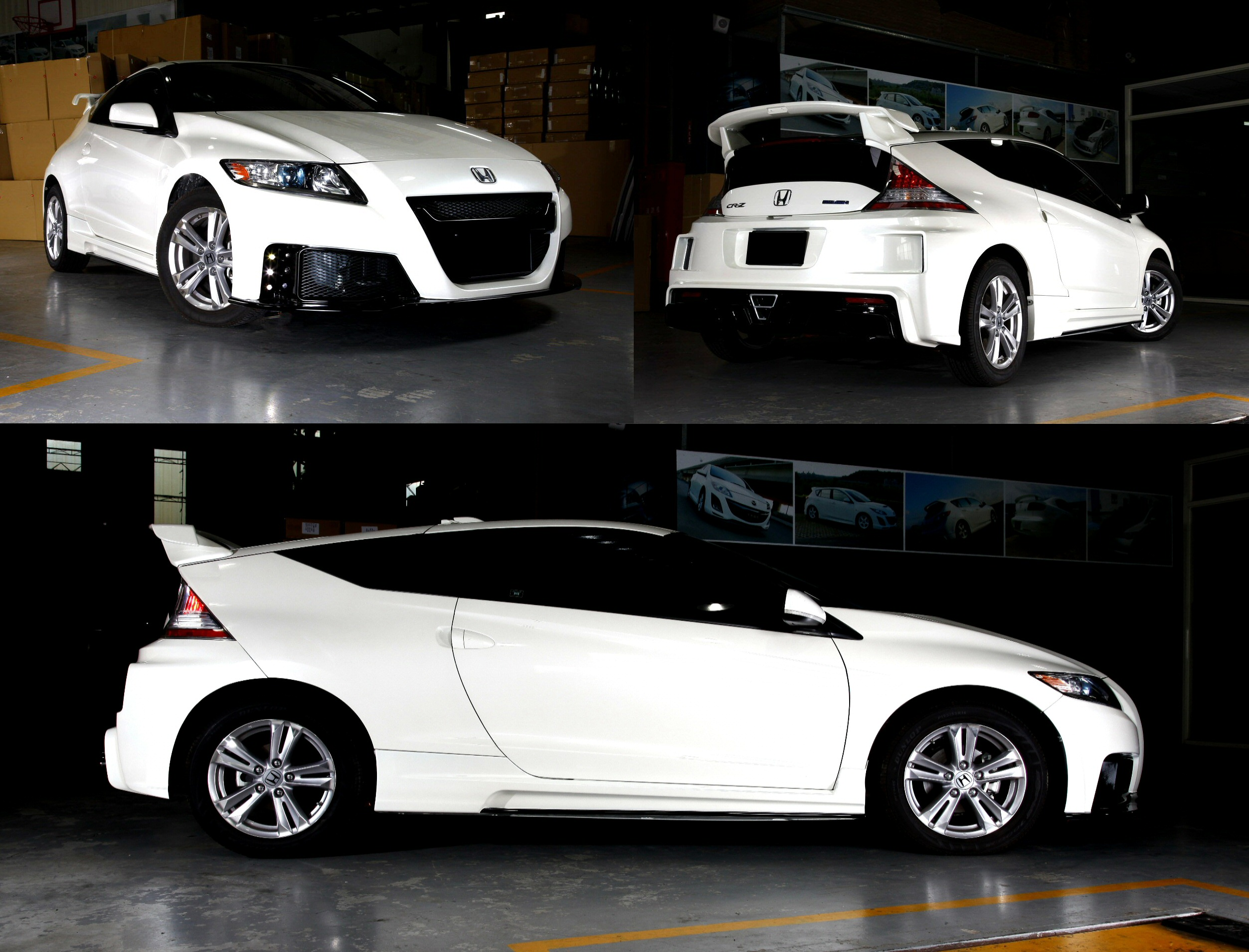 Showoff Imports :: Honda CRZ 10+ Mugen RR Style ABS Full ...