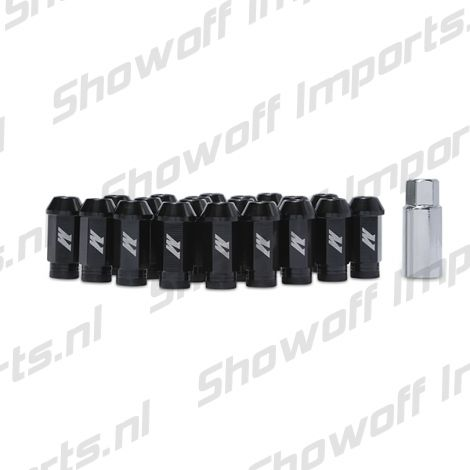 Mishimoto Aluminium Locking Lug Nuts M12 x 1.25 Black