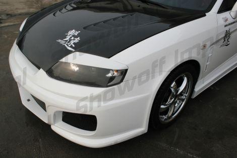Hyundai Coupé Tiburon Gk 03 06 Chargesd Headlight Eyebrows