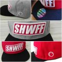Showoff Imports SnapBack Cap Red SHWFF (One Size)