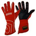 RRS Virage Racing Gloves FIA-Approved Red/White Size XL