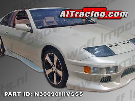 showoff imports nissan 300zx vs sideskirts 2 2 seat ait. Black Bedroom Furniture Sets. Home Design Ideas