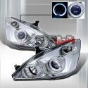 Honda Accord 2d Coupe 03-06 Projector Headlights Chrome [KS]