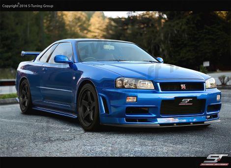Showoff Imports Nissan Skyline R34 Gtt Z Tune N1 Wide