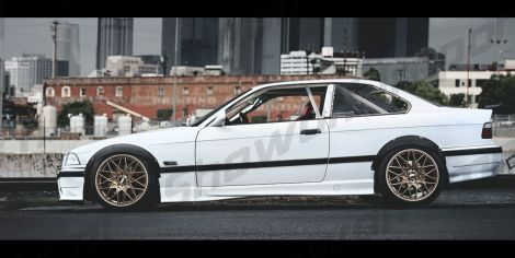 Showoff Imports Bmw E36 Coupe Fender Flares Frontrear