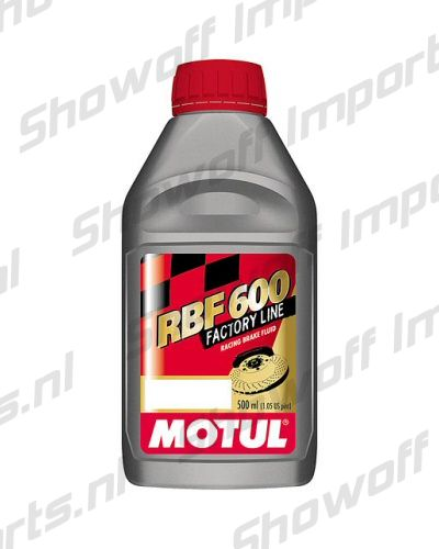 MOTUL Brake Fluid RBF 600 Factory 100% Synthetic 0.5L