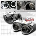 Honda Integra 98-01 Black Angeleye Projector G6 Headlights