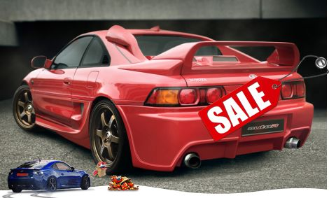 Showoff Imports Toyota Mr2 Sw20 91 99 Rearbumper Drifter Autor