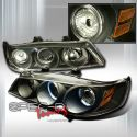 Honda Accord 94-97 2D Proj. Headlights Black [SR]