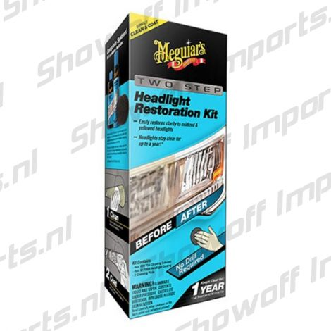 Meguiars Headlight Perfect Clarity Restoration Kit (set)