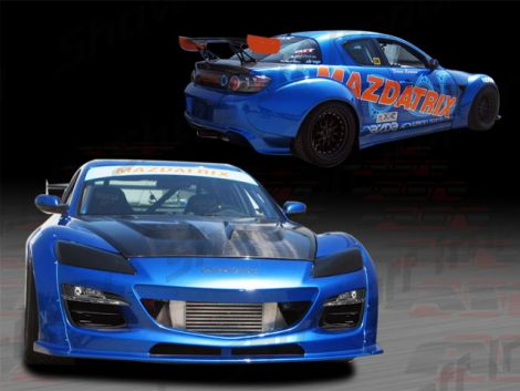 Mazda RX8 03-08 Mazdaspeed Style Front Fender Flares [AIT]