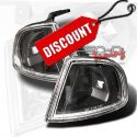 Honda Prelude 92-96 Corner Lights Black [SR]