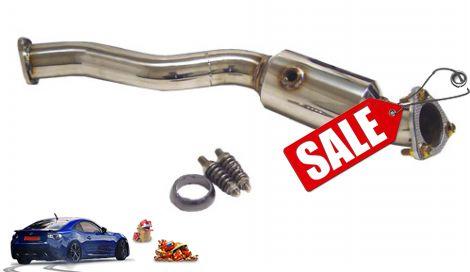 Showoff Imports Honda JazzFit Megan Racing Downpipe - Acura rdx downpipe