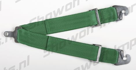 Takata Racing Sub-Strap for RACE Harness (T-Bar) Green