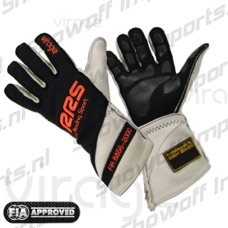 RRS Virage II Racing Gloves FIA-Approved Orange Size XXL
