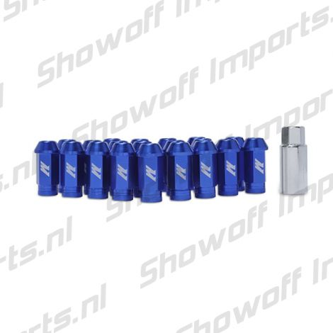 Mishimoto Aluminum Locking Lug Nuts M12 x 1.5 Blue
