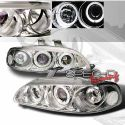 Honda Civic 92-95 2/3D Projector Headlights Clear [SR]