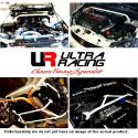 Honda Jazz 08+ UltraRacing 4-Point Rear Cross Brace 2834