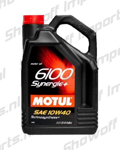 MOTUL 6100 Synergie SAE 10W40 5L Technosynthese Engine Oil