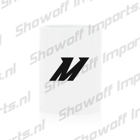 showoff imports mishimoto 51mm silicone coupler white  mishimoto 51mm silicone coupler white