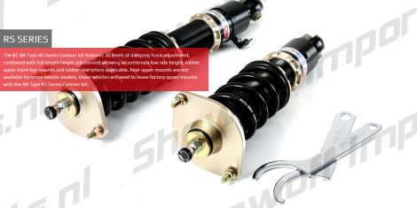 Jaguar XJ 03-10 BC-Racing Coilover Kit BR-RS