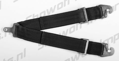 Takata Racing Sub-Strap for RACE Harness (T-Bar) Black