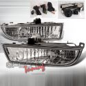Honda Prelude 97-01 Clear JDM Fog Light Kit