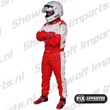 RRS Monza Race Suit FIA-Approved Red Size XL