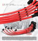 Honda CRX/Civic/Sol/Integra DOHC RED Spark Plug Wires [SIX]