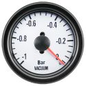 DFI Whiteline Universal Meter Gauge 52mm - Vacuum (Bar)
