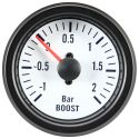 DFI Whiteline Universal Meter Gauge 52mm - Boost (bar)