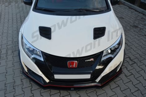 Honda Civic Type R FK2 15+ MXT Hood Vents ABS Gloss Black