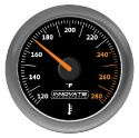 Innovate MTX-A Analog Oil or Water (Fluid) Temp Gauge