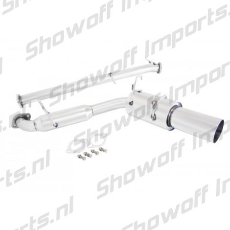 Mazda MX5 89-93 NA 1.6L Stainless Axleback Exhaust System