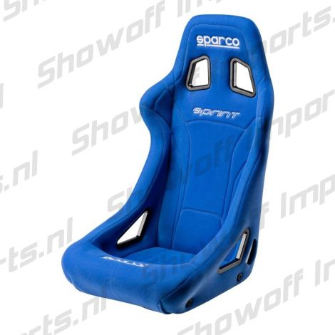 Sparco Universal Racing/Bucket Seat Sprint Blue incl FIA